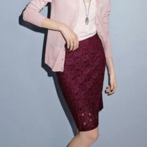 Dresses & Skirts - Polyester Lace Pencil Skirt NWT